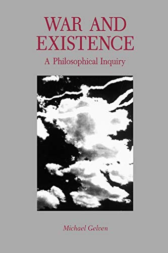 9780271027319: War and Existence: A Philosophical Inquiry