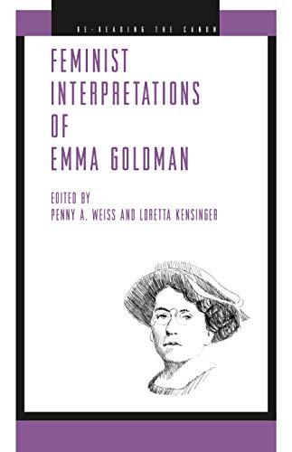 9780271029764: Feminist Interpretations of Emma Goldman (Re-Reading the Canon)