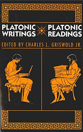 9780271030081: Platonic Writings/Platonic Readings