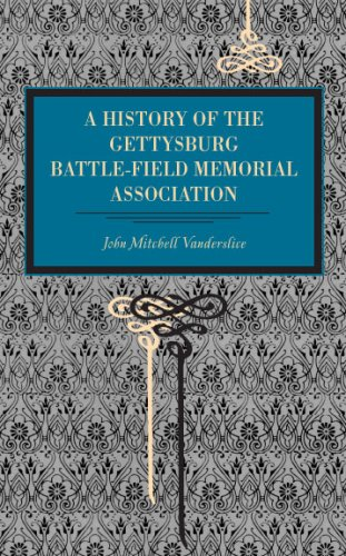 9780271034881: Gettysburg: A History of the Gettysburg Battle-Field Memorial Association