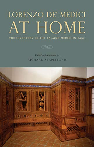 9780271056425: Lorenzo de' Medici at Home: The Inventory of the Palazzo Medici in 1492