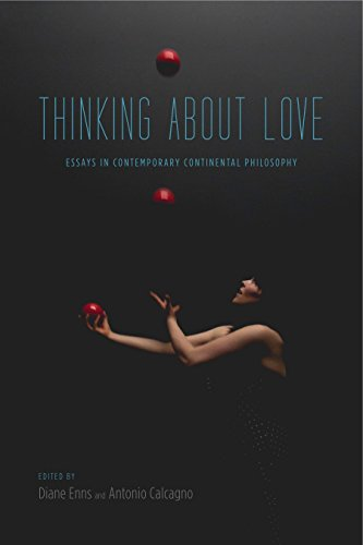 9780271070964: Thinking About Love: Essays in Contemporary Continental Philosophy