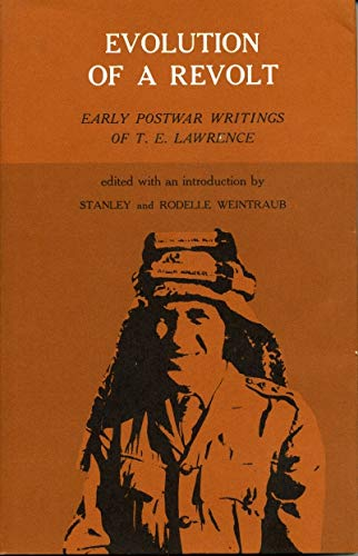 9780271731339: Evolution of a Revolt: Early Postwar Writings of T. E. Lawrence