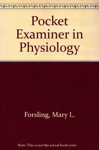 9780272796351: Pocket Examiner in Physiology