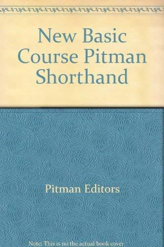 9780273000402: New Basic Course Pitman Shorthand