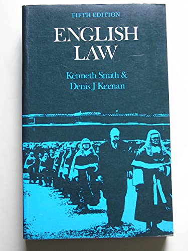 9780273000587: English Law