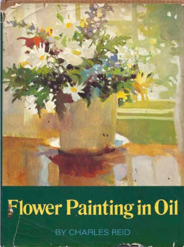 Flower Painting in Oil (0273001043) by Charles Reid