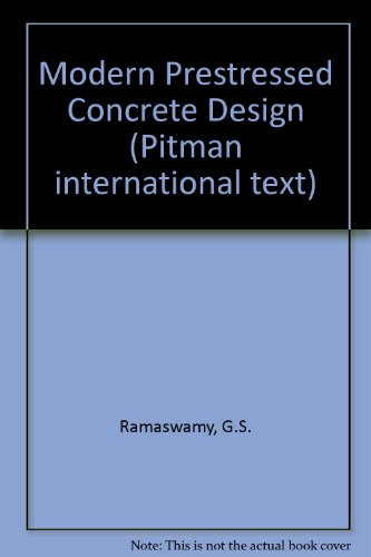 9780273004554: Modern Prestressed Concrete Design (Pitman international text)