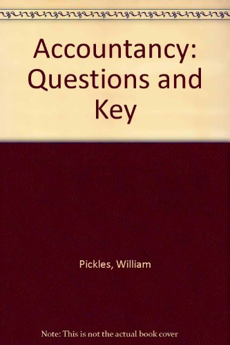9780273008378: Accountancy: Questions and Key