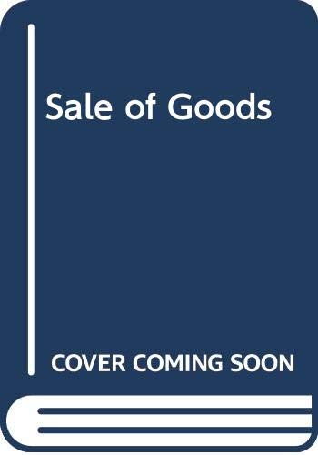 9780273008729: Sale of Goods