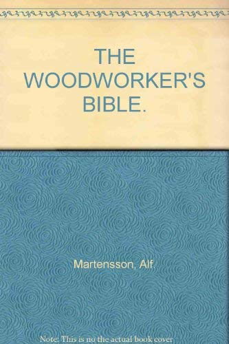 9780273009221: Woodworker's Bible, The
