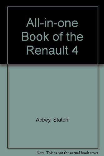 9780273010036: All-in-one Book of the Renault 4