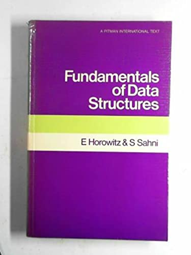 9780273010623: Fundamentals of Data Structures