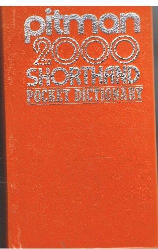 Pitman 2000: Shorthand Pocket Dictionary