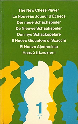 9780273012634: New Chess Player: v. 1 (English and Multilingual Edition)