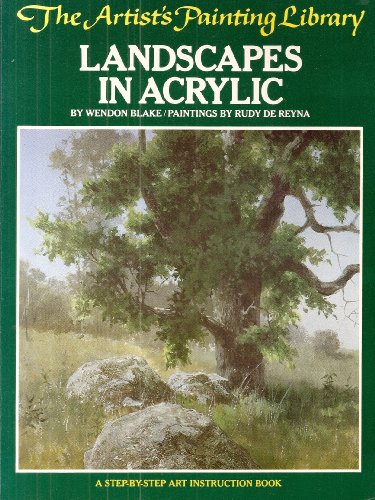9780273013594: Landscapes in acrylic (The Artist's painting library)