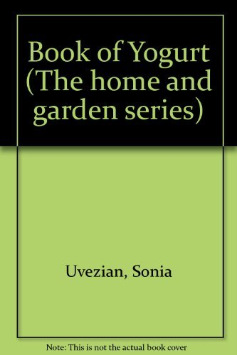 9780273014249: Book of Yogurt (The home and garden series)