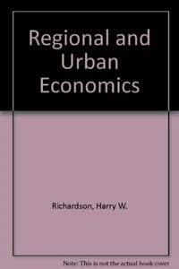 9780273014614: Regional and Urban Economics