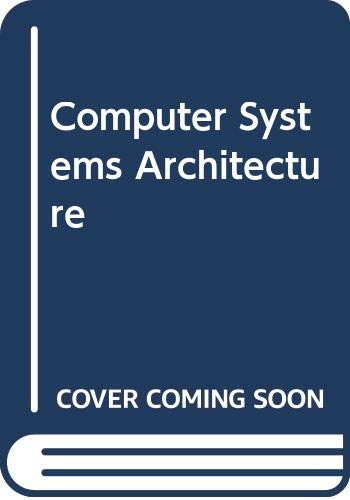 9780273014744: Computer Systems Architecture