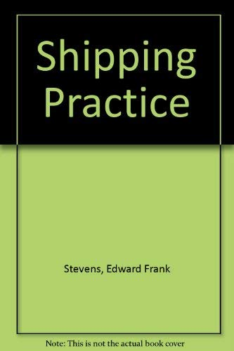 9780273016168: Shipping Practice