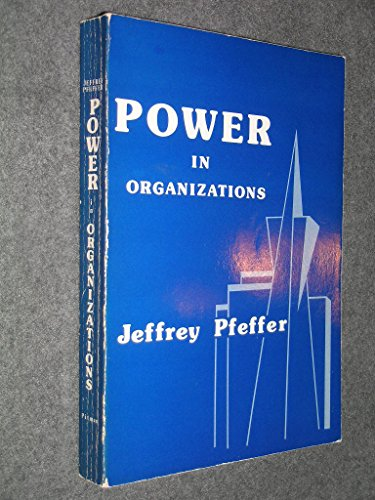9780273016397: Power in Organizations