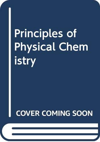 9780273017745: Principles of Physical Chemistry