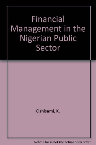 9780273018889: Financial Management in the Nigerian Public Sector