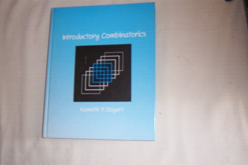 9780273019237: Introductory Combinatorics