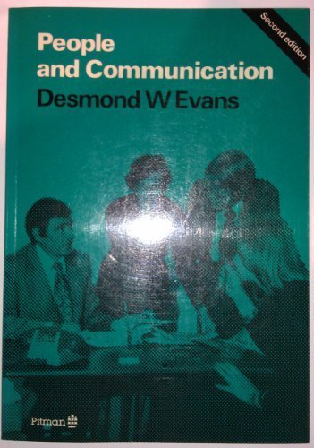 9780273019725: People and Communication