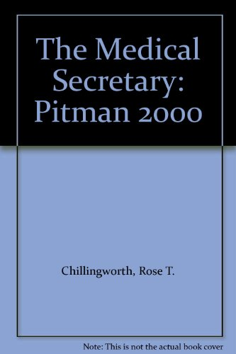 9780273021148: The Medical Secretary: Pitman 2000