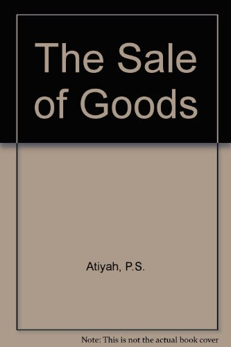 9780273022060: The Sale of Goods
