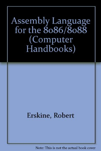 9780273022459: Assembly Language for the 8086/8088 (Computer Handbooks)