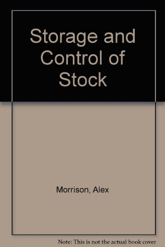 9780273024484: Storage and Control of Stock