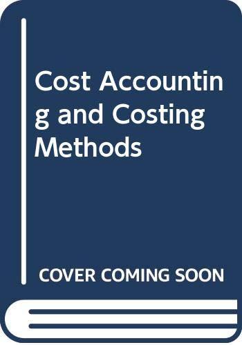 Wheldon's Cost Accountancy: Owler, L. W.