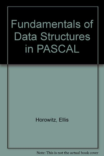 9780273027010: Fundamentals of Data Structures in PASCAL
