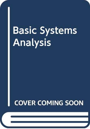 9780273029311: Basic Systems Analysis