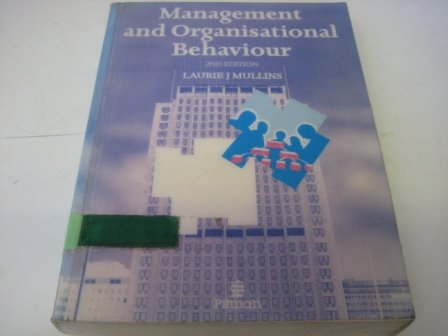 9780273029854: Management and Organisational Behaviour