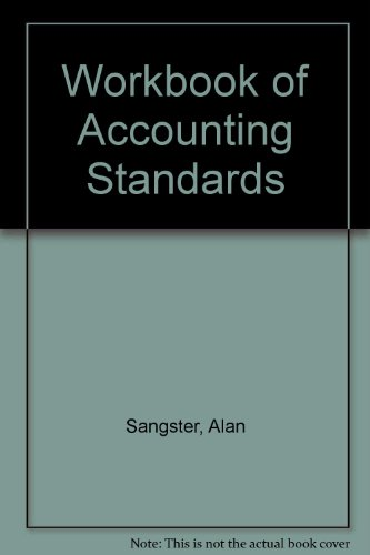 9780273031895: Workbook of Accounting Standards