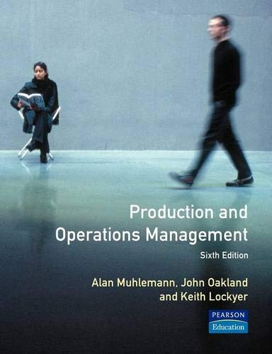 9780273032359: Production and Operations Management
