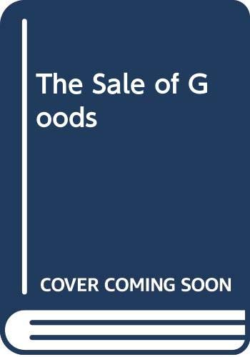 9780273032892: The Sale of Goods