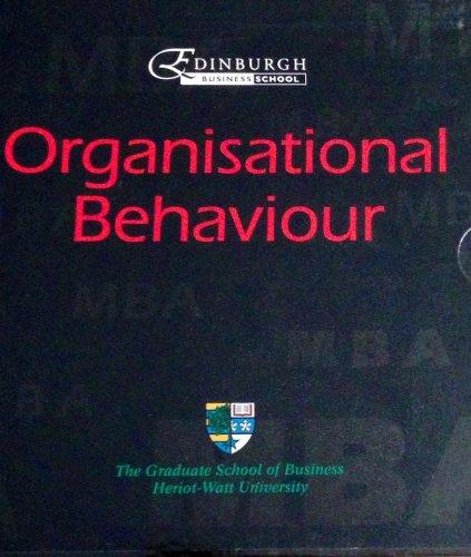 9780273032915: Organisational Behaviour a Distance Learning Edinburgh Business School