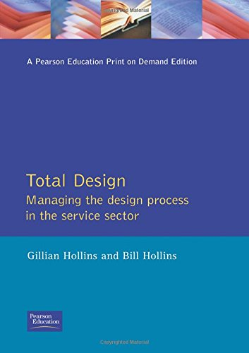 9780273033387: Total Design: Managing the Design Process in the Service Sector