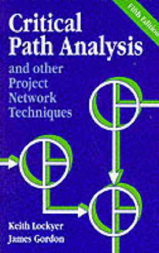 9780273034162: Critical Path Analysis and Other Project Network Techniques