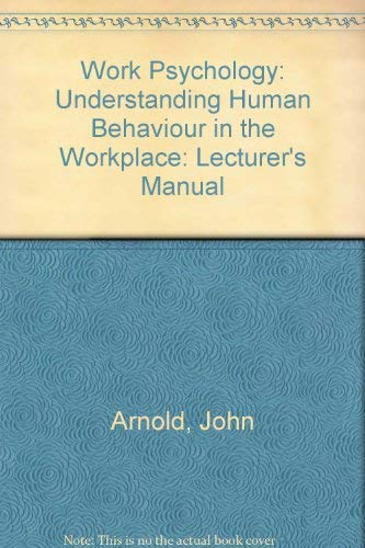 understanding human behavior in the workplace