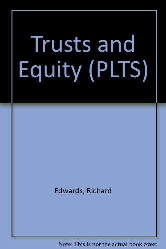 Trusts and Equity: Richard Edwards
