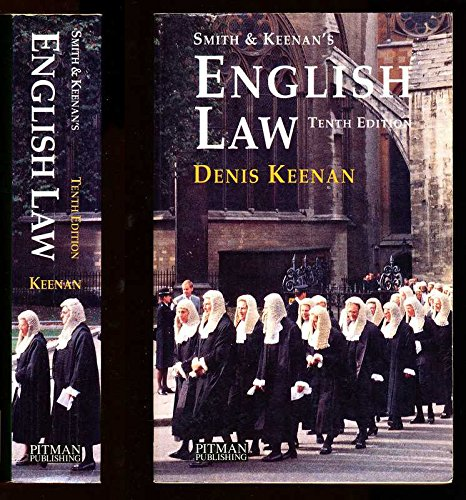 Smith and Keenan's English Law: Keenan, Denis
