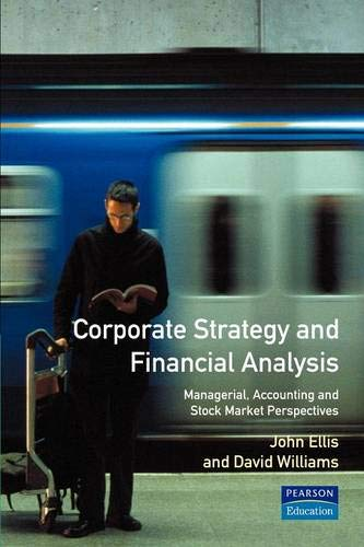 Corporate Strategy and Financial Analysis: John Ellis; David