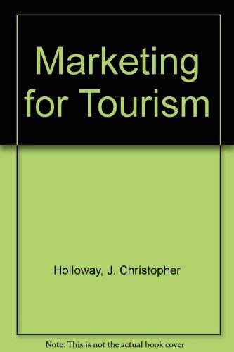 9780273038443: Marketing for Tourism