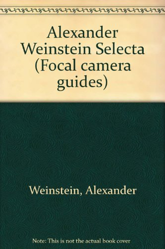 9780273084112: Alexander Weinstein Selecta