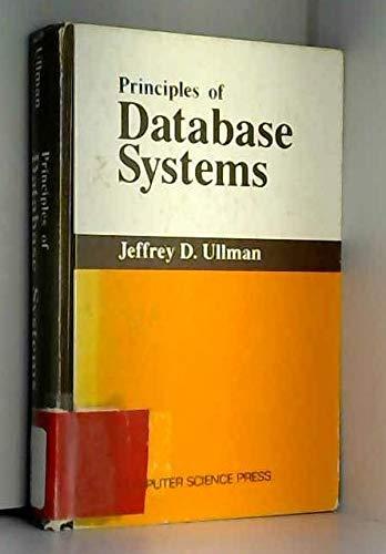 9780273084761: Principles of Data Base Systems (Computer